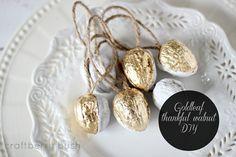Craftberry Bush: Gilded thankful walnut tutorial....