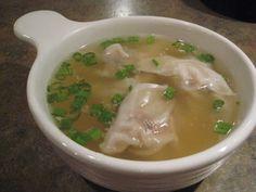 easy-peasy wonton soup