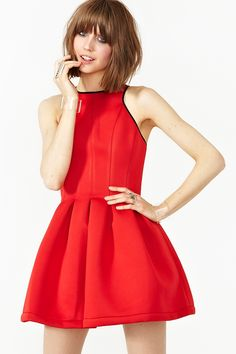 Under Control Dress in Red