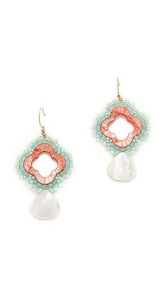 Coral and Mint