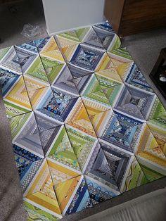 amazing quilt with scrap