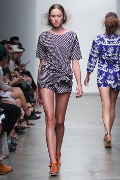 A Detacher RTW Spring 2013 - Runway, Fashion Week, Reviews and Slideshows - WWD.com