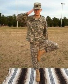 Yoga programs around the country help soldiers returning from war find relief from PTSD.