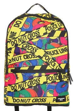 Donut backpack -- Perhaps cop from the simpsons