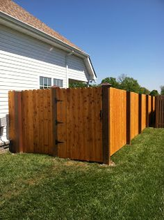 My Home Life Story: How We Put Up Our DIY Exposed Post Privacy Fence