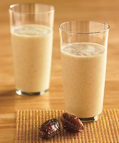 Vanilla-Date Breakfast Smoothie from Epicurious.com #myplate #dairy