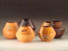 Wood Turned Bowls by From Chapel Hill Turning Studio, Douglasville, GA Tom Hamilton, Turner