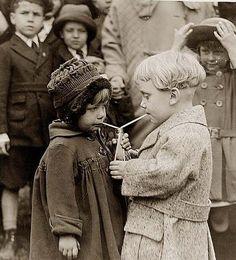 Children Sharing 1922