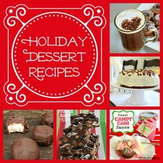 Holiday dessert recipes from @Bonnie S. &  Trish { Uncommon Designs }