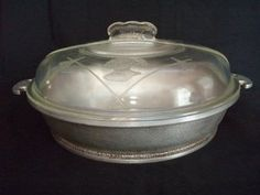 Guardian Service Bakeware 4 Qt round casserole w/lid