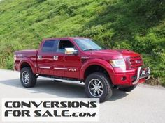 2014 Ford F-150 Lariat FTX Tuscany Lifted Truck