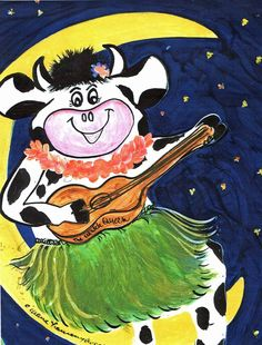 Hula Cow