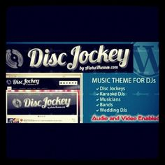 Are you one of those cool DJ's or bands rocking night parties? Get a website to help market your skills and use The Disk Jockey WordPress Music Theme as your site's backdrop. Check out some of its incredible features here. http://www.totalbounty.com/shop/mkt/item/disk-jockey-wordpress-music-theme