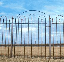 Wrought Iron Fencing And Gates
