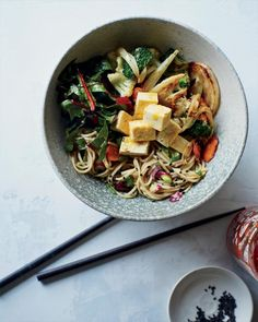 Kitchen-Sink Soba Noodles Recipe