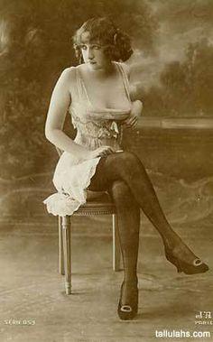 Victorian era pinup