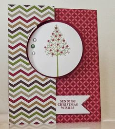Warmth and Wonder, Thinlit Circle dies from Stampin Up