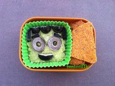 Cute healthy halloween snack