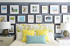 Swoon! Wall gallery from Young House Love.