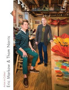 ERIC MARKOW & THOM NORRIS - A Touch of Glass written by Lorie Lee Steiner
