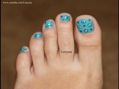 Toe Nail Design for Beginners