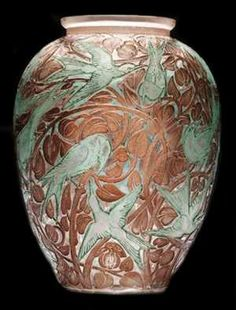 THE SPLENDORS OF LALIQUE ART, Vases ~ Blog of an Art Admirer