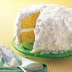 Light and Fluffy Coconut Cake