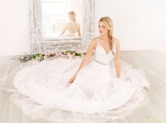 Bridal Gowns, Wedding Dresses by ti adora by Alvina Valenta- Style 7453