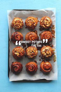 Sweet Potato Sticky Buns