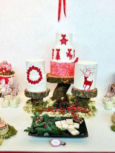 Three Cristnas cakes - by HaveSomeSugar @ CakesDecor.com - cake decorating website