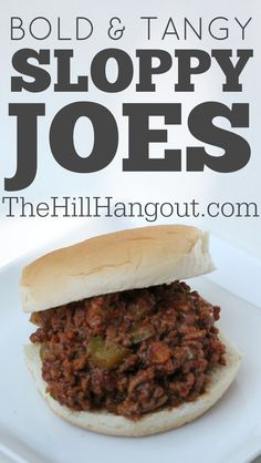 Typical Sloppy Joes are like Rodney Dangerfield - they just don't get no respect. But this homemade version from The HillHangout.com will have your family gathered around the dinner table asking for more!