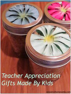 Teacher Appreciation Gifts: Body Scrubs
