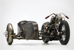 1942 Harley-Davidson Model U, re-envisioned by Union.