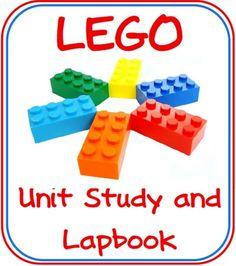 Free Lego Lapbook and Unit Study