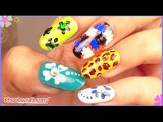Toothpick Nail Art Designs for Beginners! By KhoobSurati.com