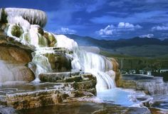 Mammoth Springs, Yellowstone 2002