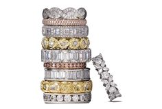 dreamy diamond eternity wedding bands!