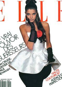 Stephanie Seymour  Elle France, March 1987  Photographer : Marc Hispard