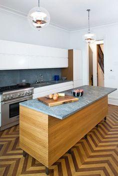 Patterned Kitchen Floor