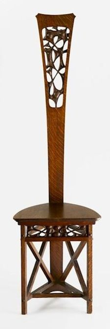 Antique Stickley Chair. When it comes to American Craftsman furniture, Gustav Stickley is often considered the master.