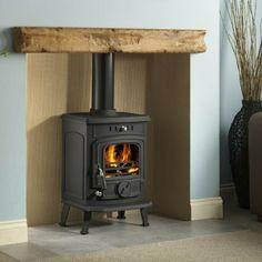 Wood-burning stove decor on Pinterest | Wood Burning Stoves, Wood