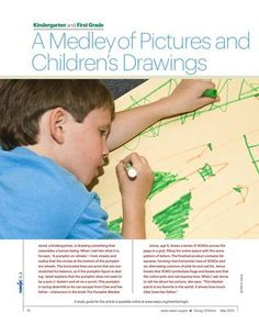 NAEYC article - analyzing pictures and children's drawings