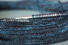 Ravelry: katiezahner's Turquoise Herringbone