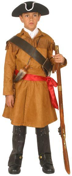 William Clark Costume Lewis explorer costume
