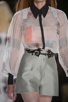 LOVE the Rococo Belt  | Carolina Herrera S13 RTW