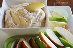 Pumpkin pie apple dip. a perfect dessert!