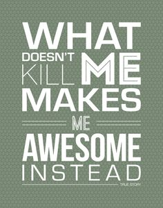 Be Awesome! #startups #entrepreneurs #motivation