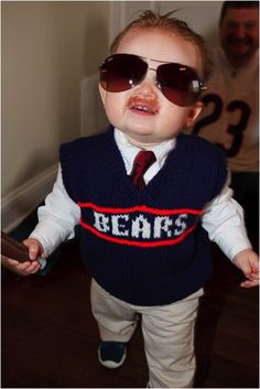 There's only one costume for the Chicago baby this year.