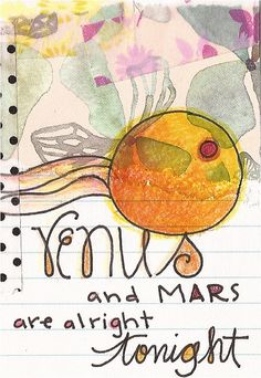 day 5 - venus by lindsay ostrom, via Flickr