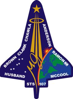 STS-107 Flight Insignia #remember